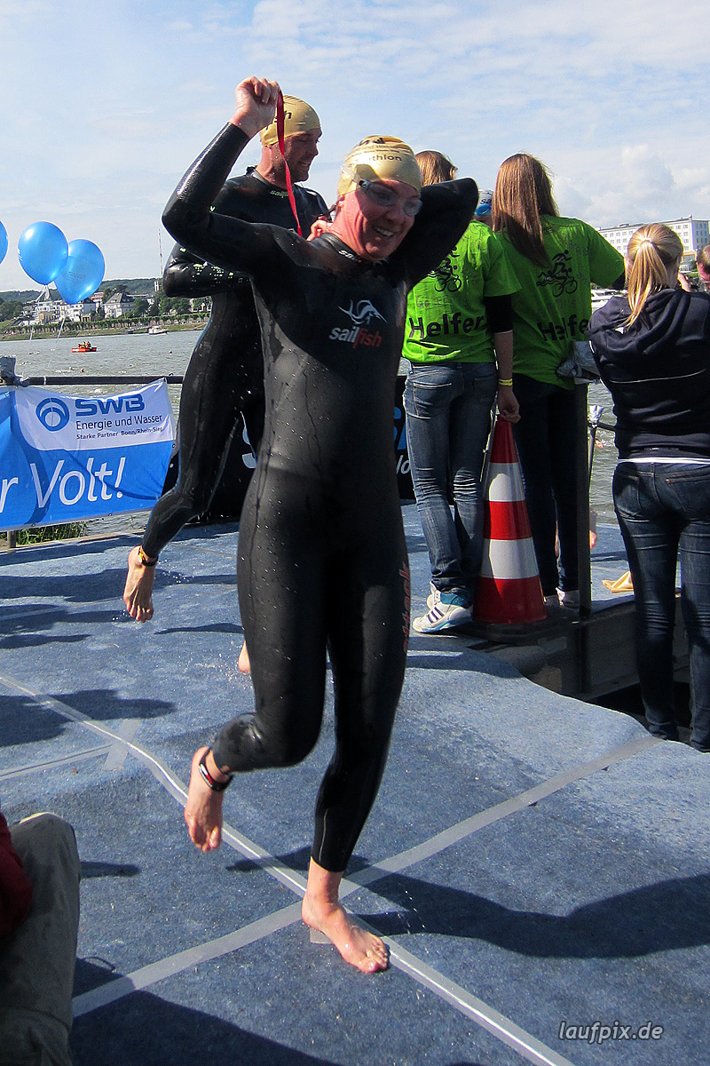 Bonn Triathlon - Swim 2012 - 239