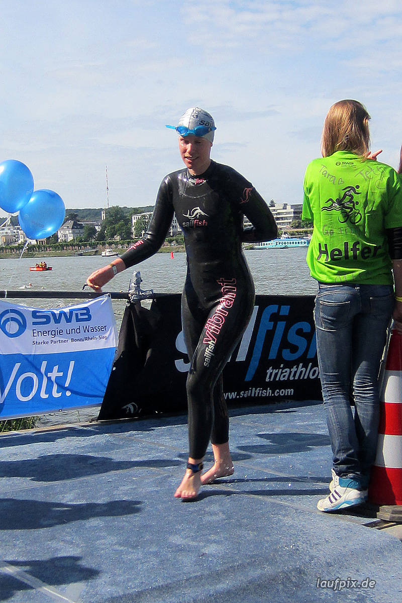 Bonn Triathlon - Swim 2012 - 241