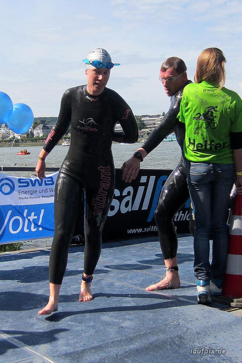Bonn Triathlon - Swim 2012 - 242