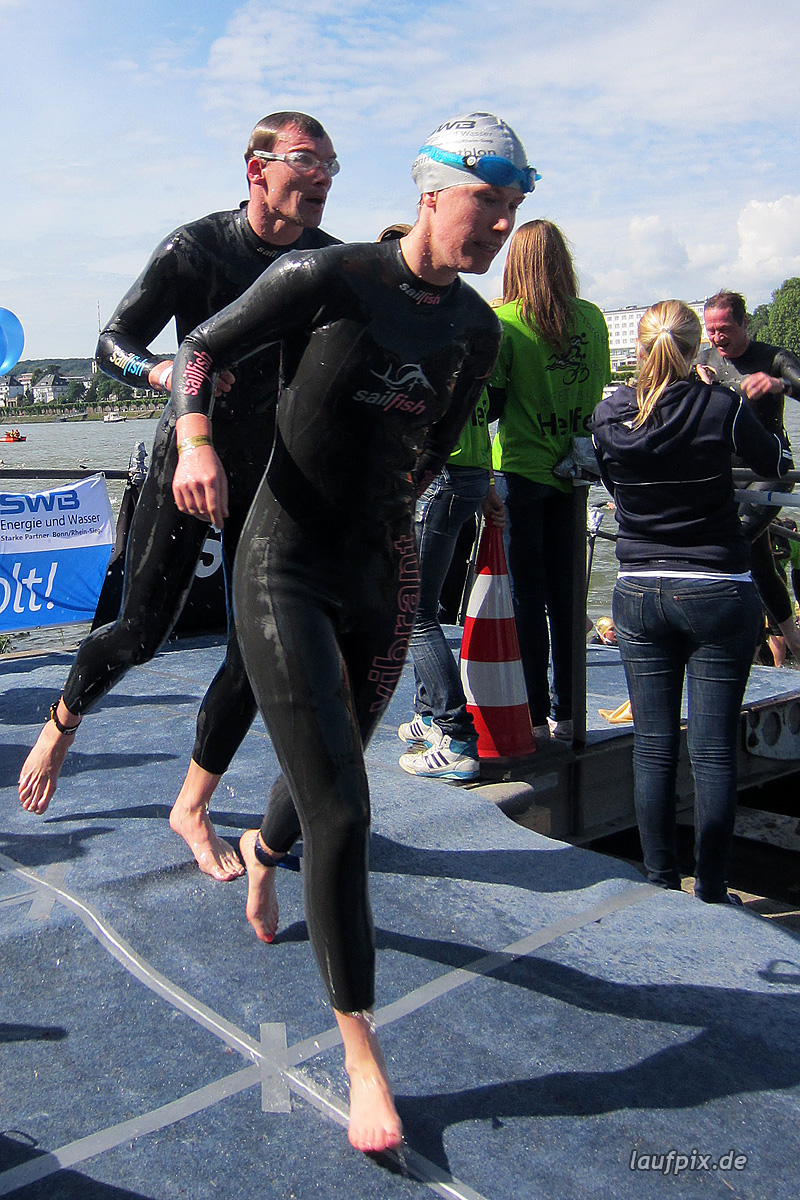 Bonn Triathlon - Swim 2012 - 243