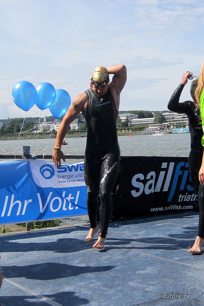 Bonn Triathlon - Swim 2012 - 244