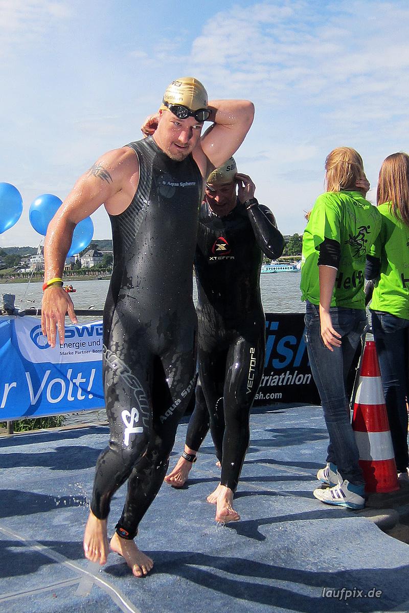 Bonn Triathlon - Swim 2012 - 245