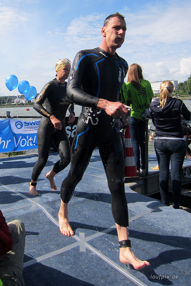 Bonn Triathlon - Swim 2012 - 250