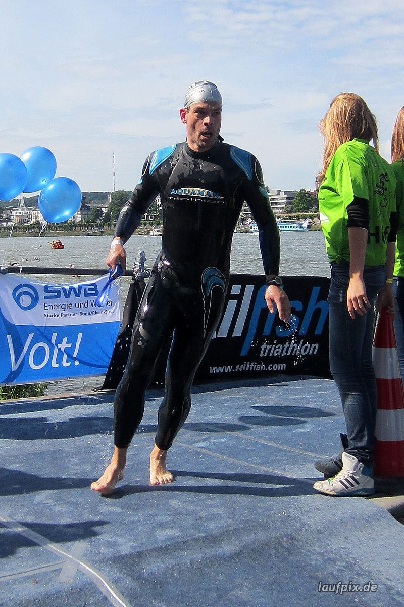 Bonn Triathlon - Swim 2012 - 251