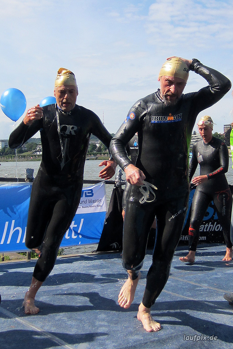 Bonn Triathlon - Swim 2012 - 253