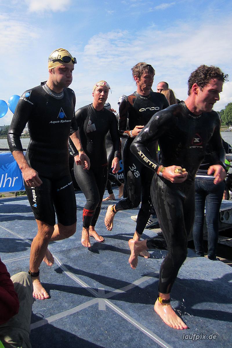 Bonn Triathlon - Swim 2012 - 257