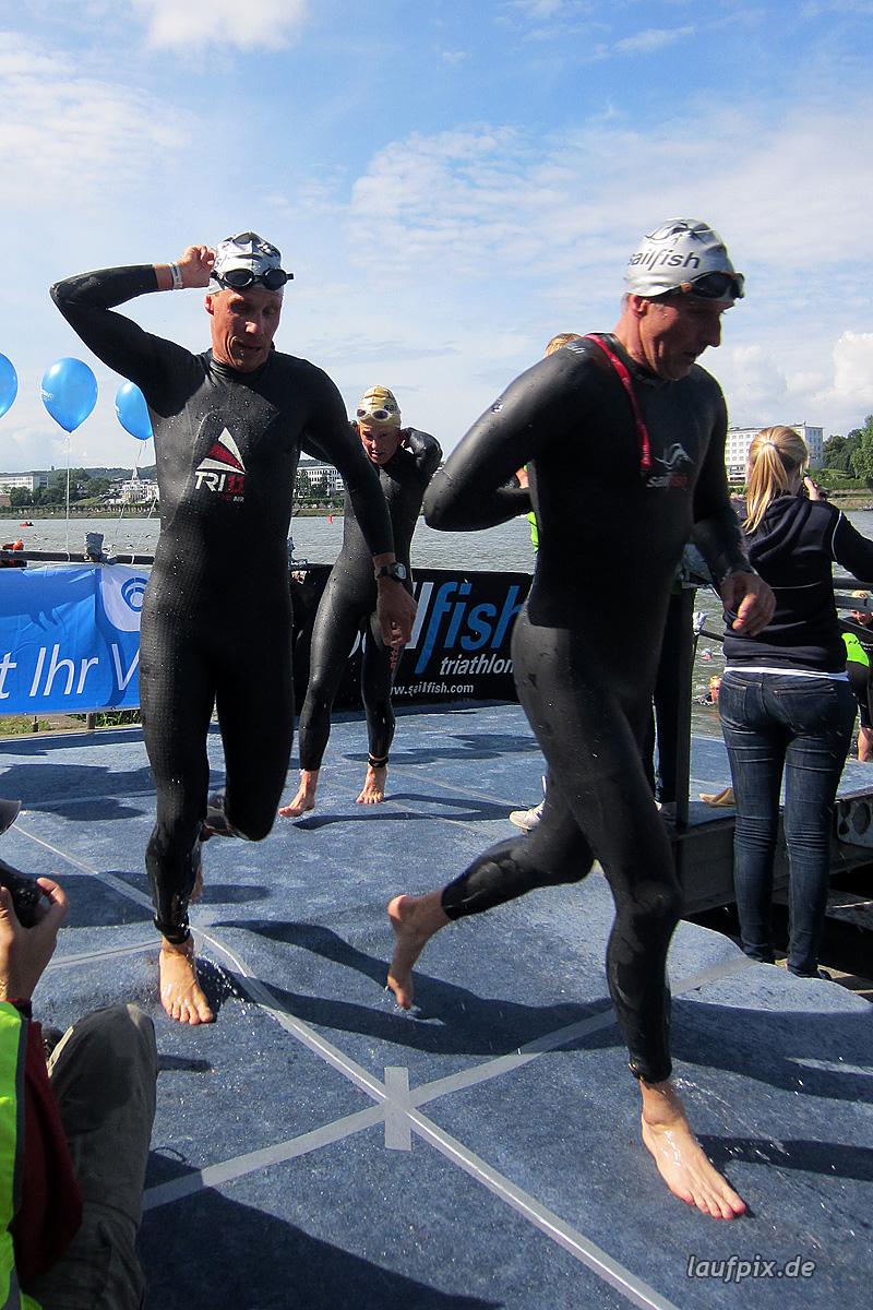 Bonn Triathlon - Swim 2012 - 261