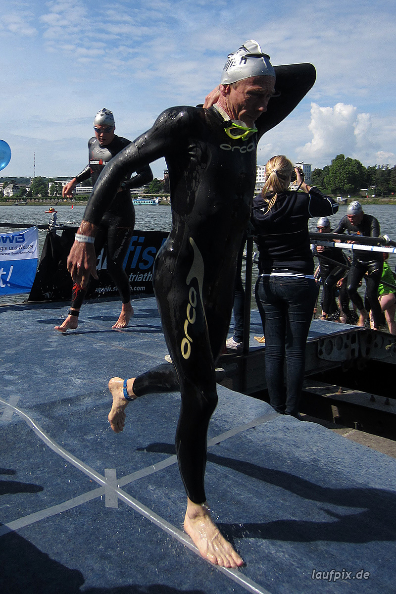 Bonn Triathlon - Swim 2012 - 320