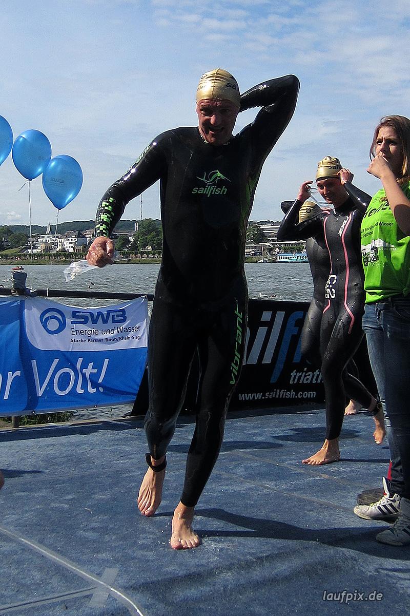 Bonn Triathlon - Swim 2012 - 330
