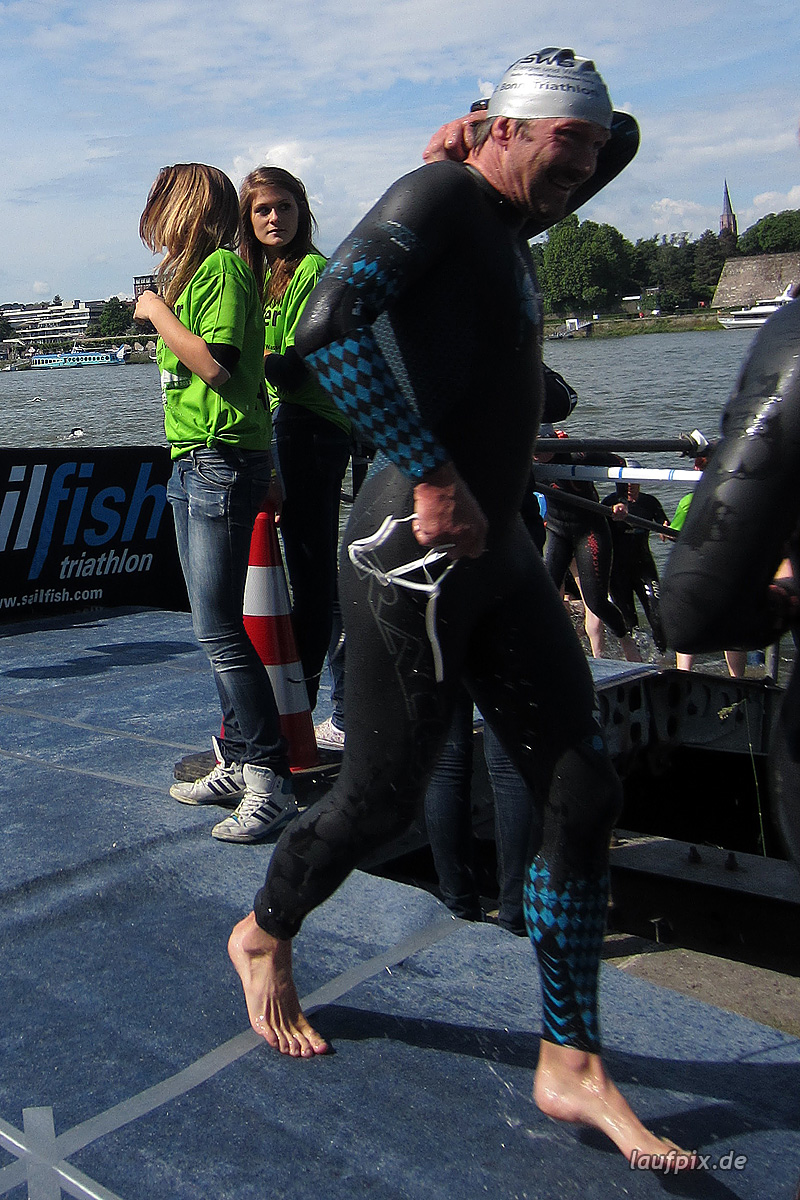 Bonn Triathlon - Swim 2012 - 369