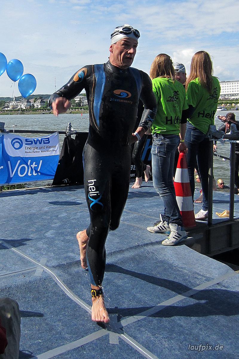 Bonn Triathlon - Swim 2012 - 390