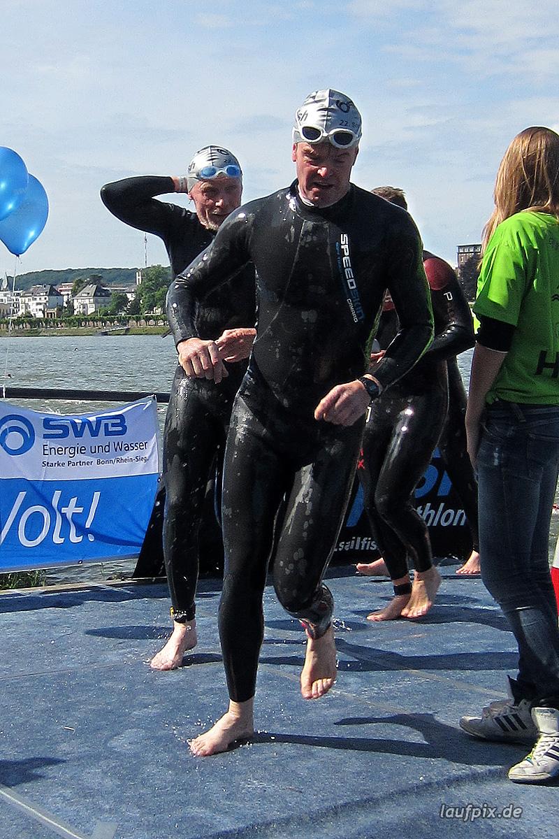 Bonn Triathlon - Swim 2012 - 392