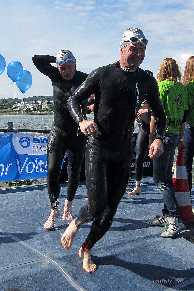 Bonn Triathlon - Swim 2012 - 393