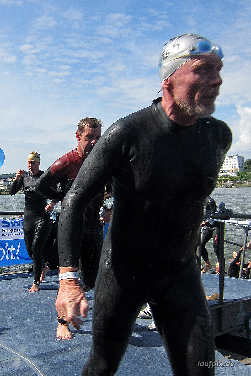 Bonn Triathlon - Swim 2012 - 395