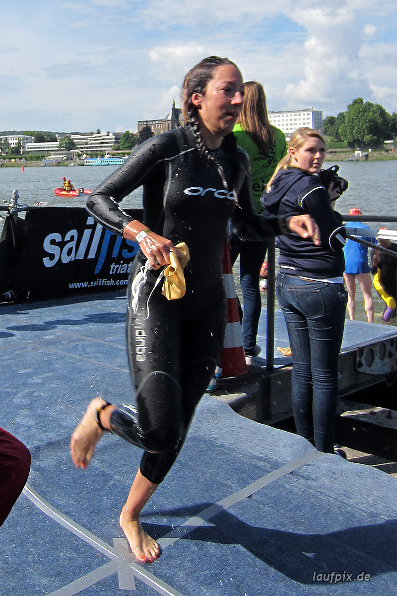 Bonn Triathlon - Swim 2012 - 424