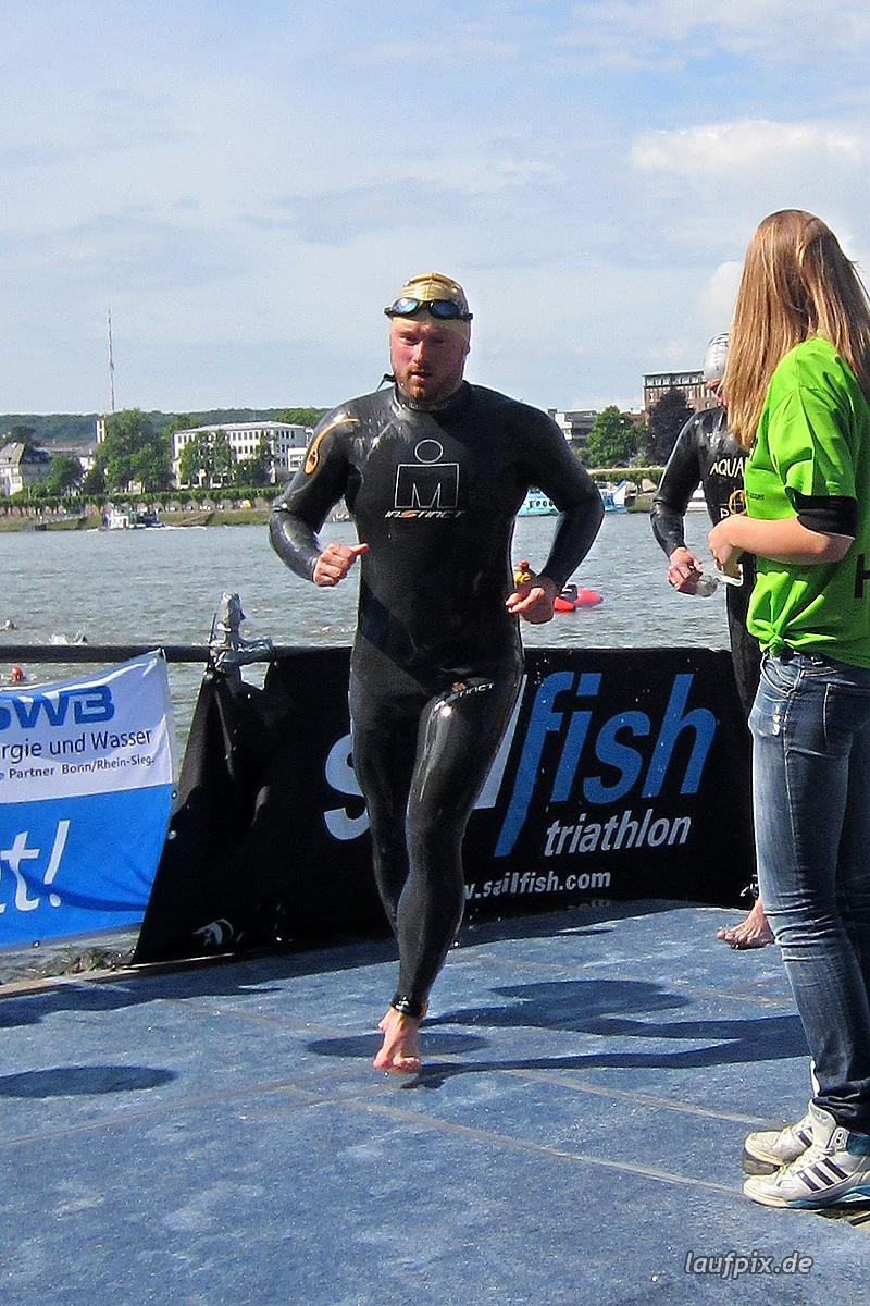 Bonn Triathlon - Swim 2012 - 442