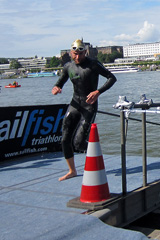 Bonn Triathlon - Swim 2012 - 1