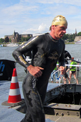 Bonn Triathlon - Swim 2012 - 7