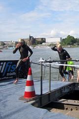 Bonn Triathlon - Swim 2012 - 8