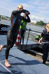 Bonn Triathlon - Swim 2012 - 16