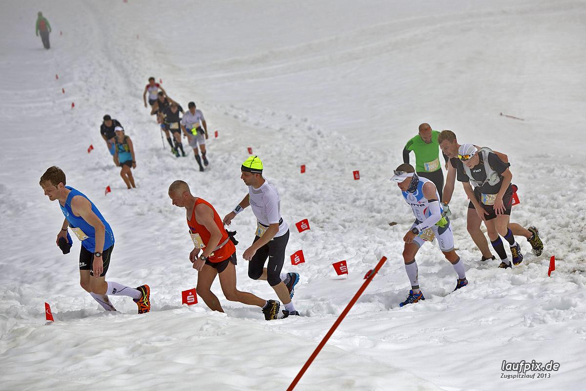 Zugspitzlauf - Start Strecke Ziel 2013 - 2