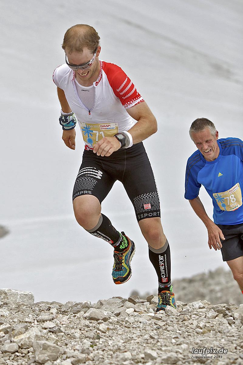Zugspitzlauf - Start Strecke Ziel 2013 - 5