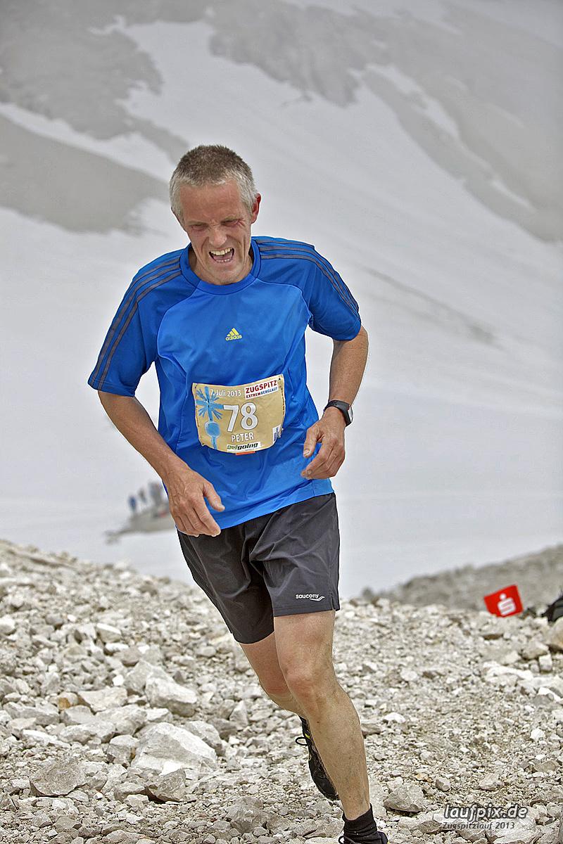 Zugspitzlauf - Start Strecke Ziel 2013 - 10