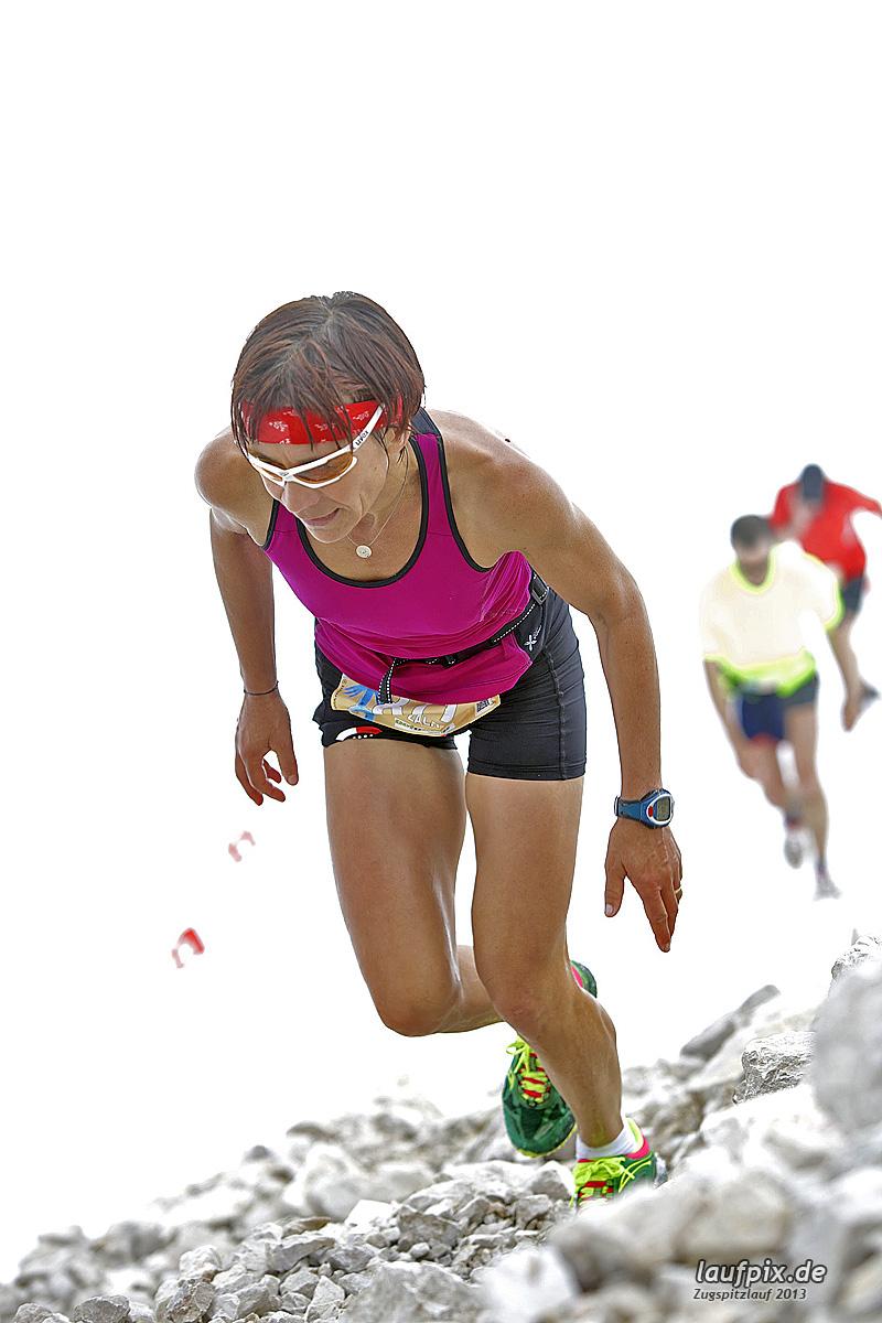 Zugspitzlauf - Start Strecke Ziel 2013 - 12