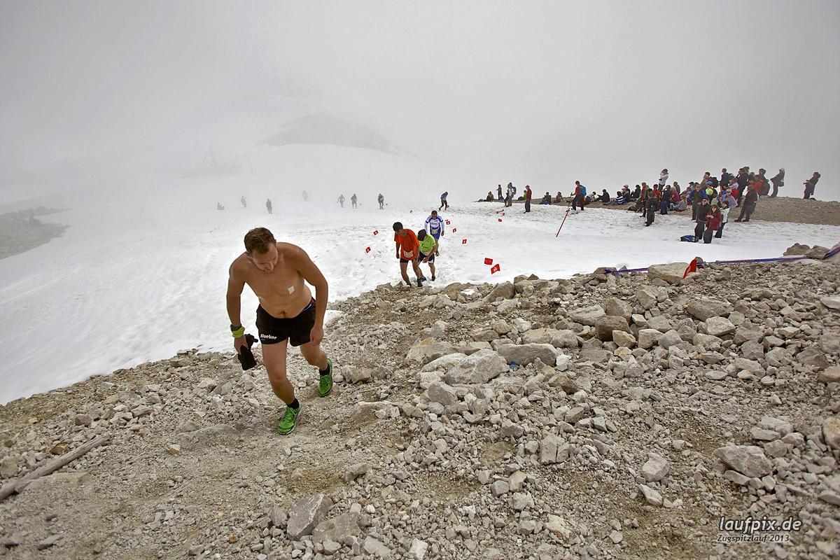 Zugspitzlauf - Start Strecke Ziel 2013 - 15