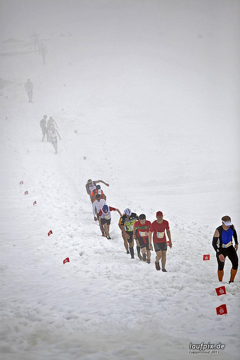 Zugspitzlauf - Start Strecke Ziel 2013 - 23