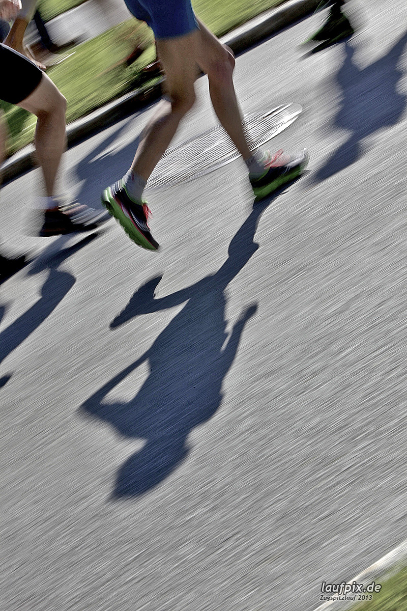 Zugspitzlauf - Start Strecke Ziel 2013 - 26