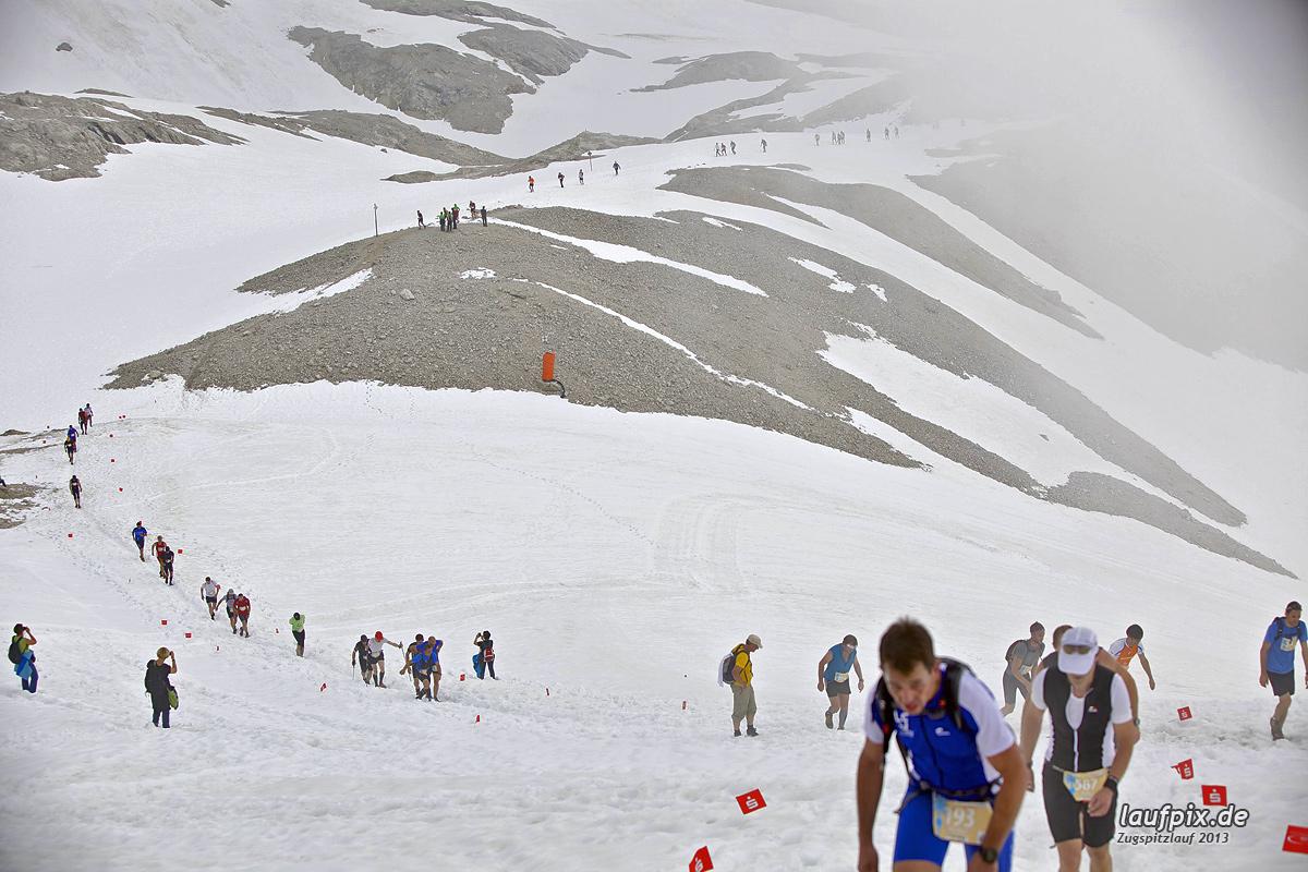 Zugspitzlauf - Start Strecke Ziel 2013 Foto (27)