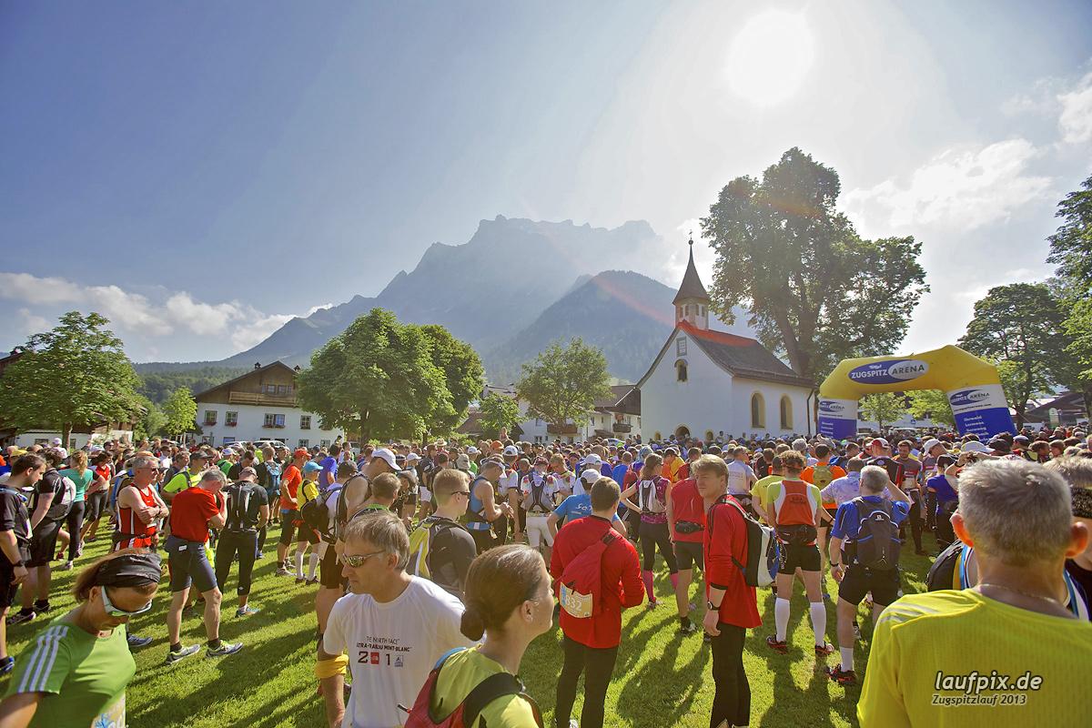 Zugspitzlauf - Start Strecke Ziel 2013 - 33