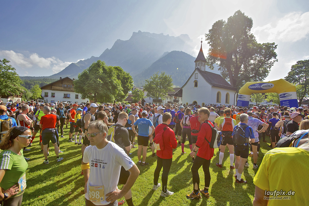 Zugspitzlauf - Start Strecke Ziel 2013 - 34
