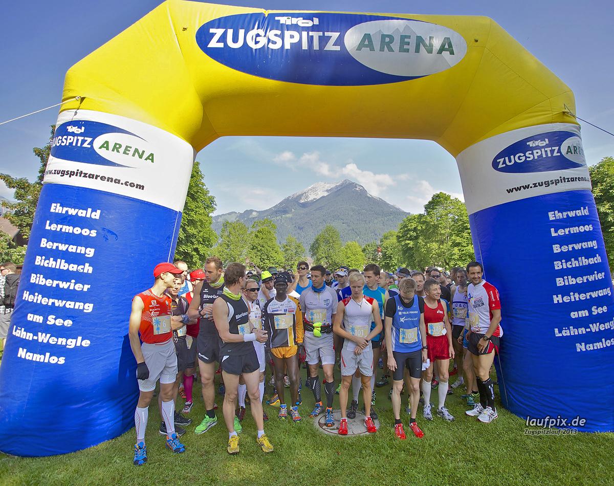Zugspitzlauf - Start Strecke Ziel 2013 Foto (35)