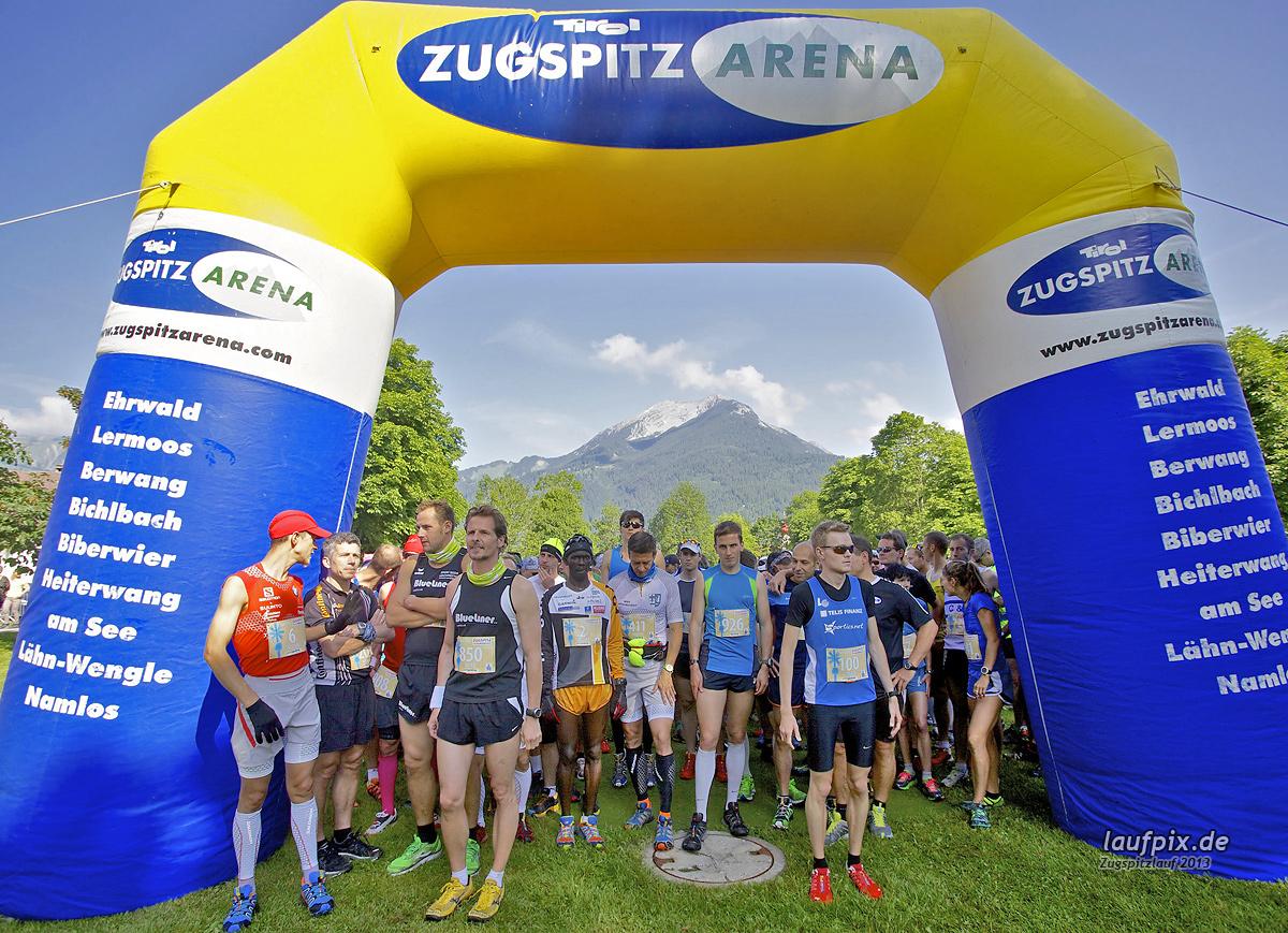 Zugspitzlauf - Start Strecke Ziel 2013 - 36