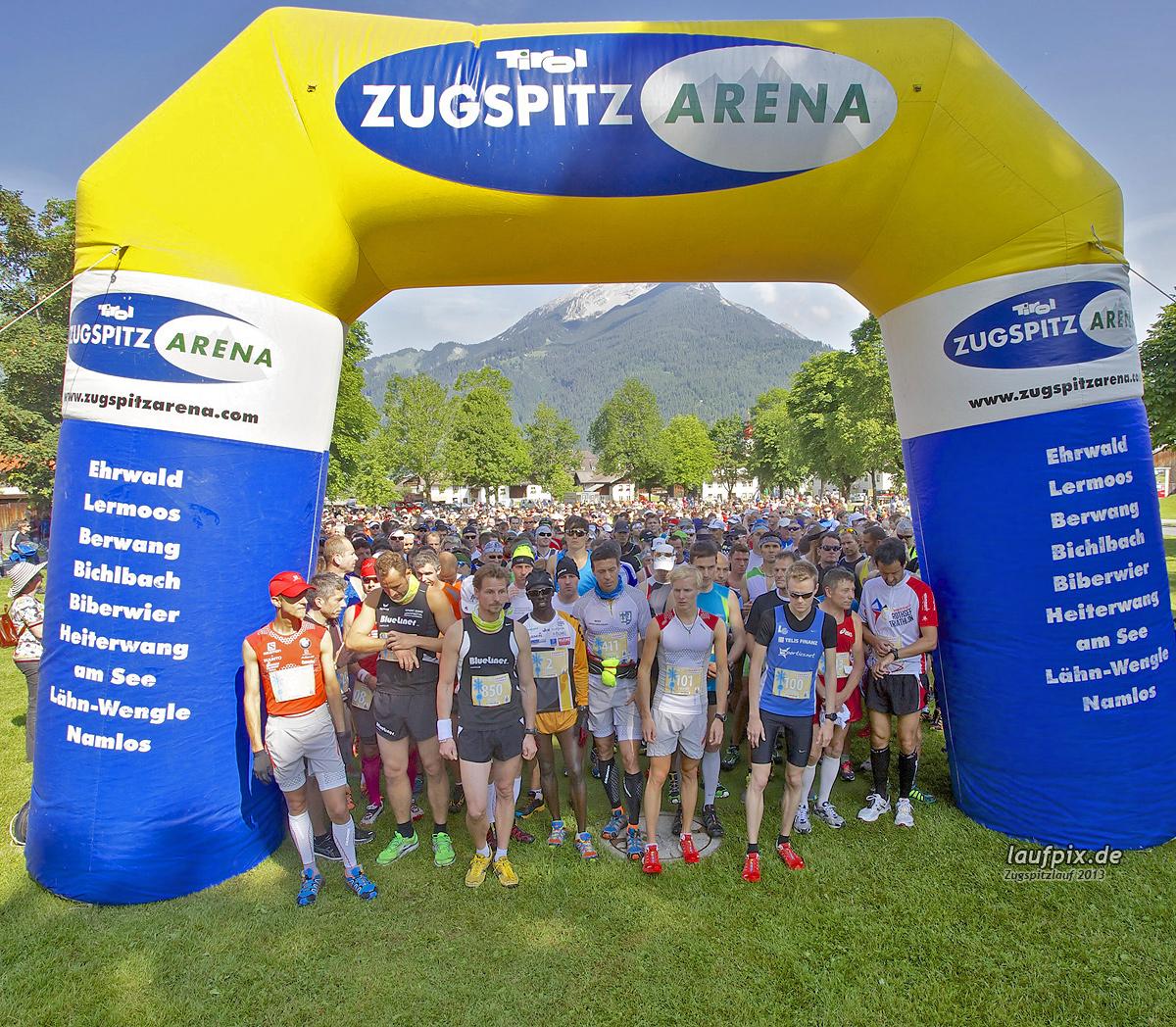 Zugspitzlauf - Start Strecke Ziel 2013 - 39