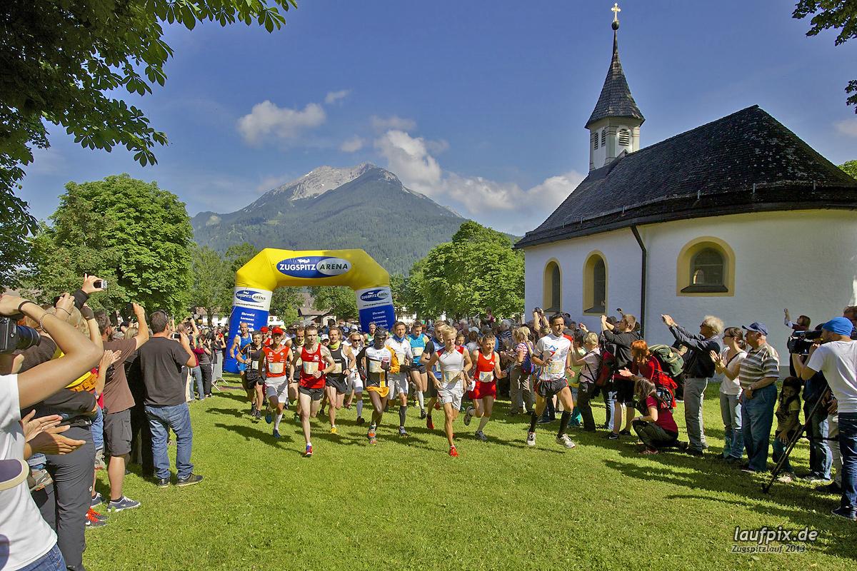 Zugspitzlauf - Start Strecke Ziel 2013 - 46
