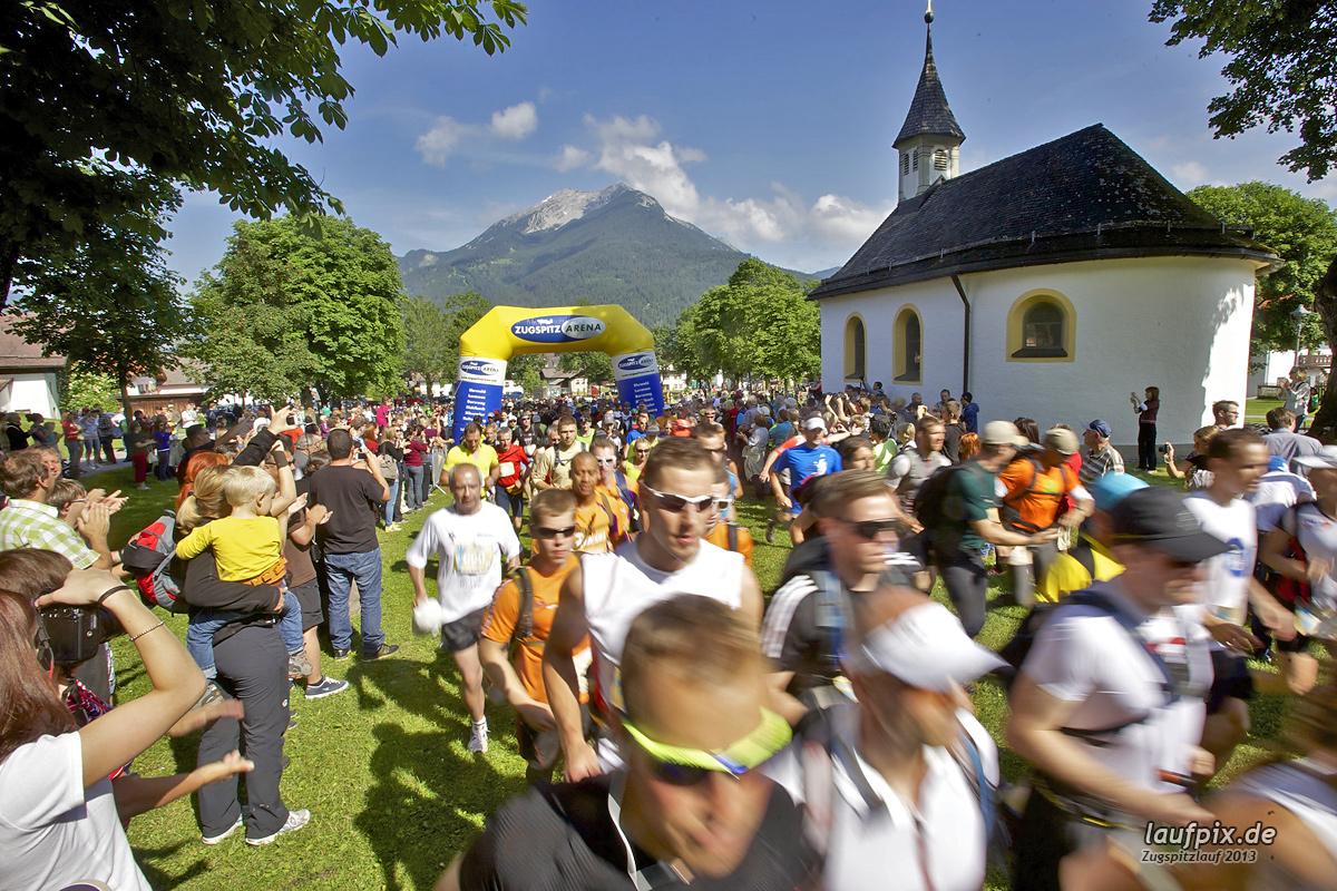 Zugspitzlauf - Start Strecke Ziel 2013 - 51