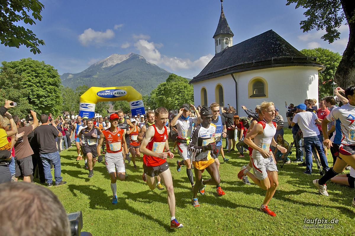 Zugspitzlauf - Start Strecke Ziel 2013 - 52