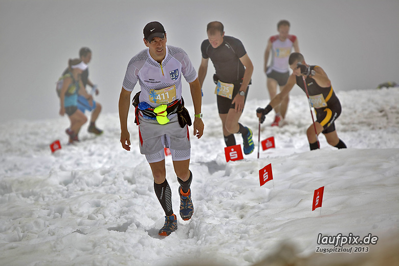 Zugspitzlauf - Start Strecke Ziel 2013 - 7
