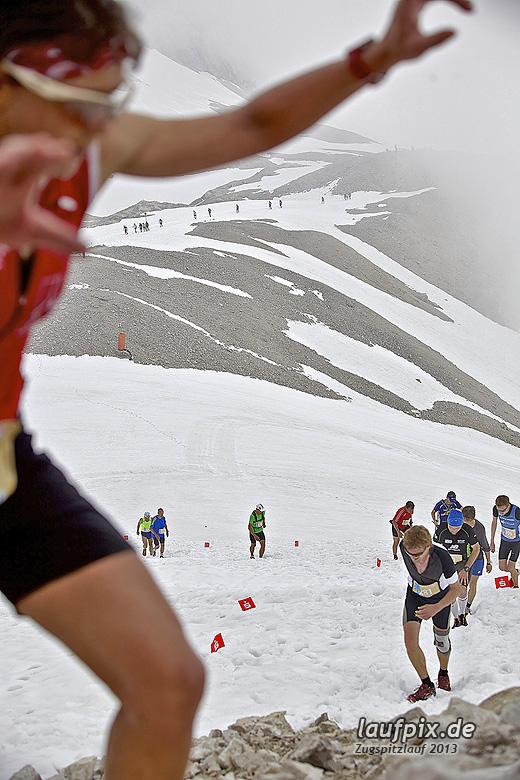 Zugspitzlauf - Start Strecke Ziel 2013 - 21