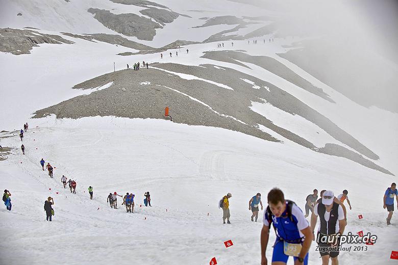 Zugspitzlauf - Start Strecke Ziel 2013 - 27