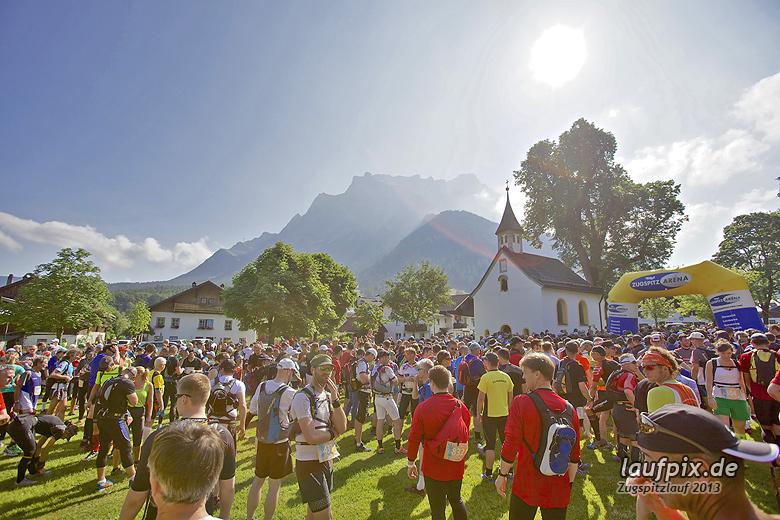 Zugspitzlauf - Start Strecke Ziel 2013 - 28