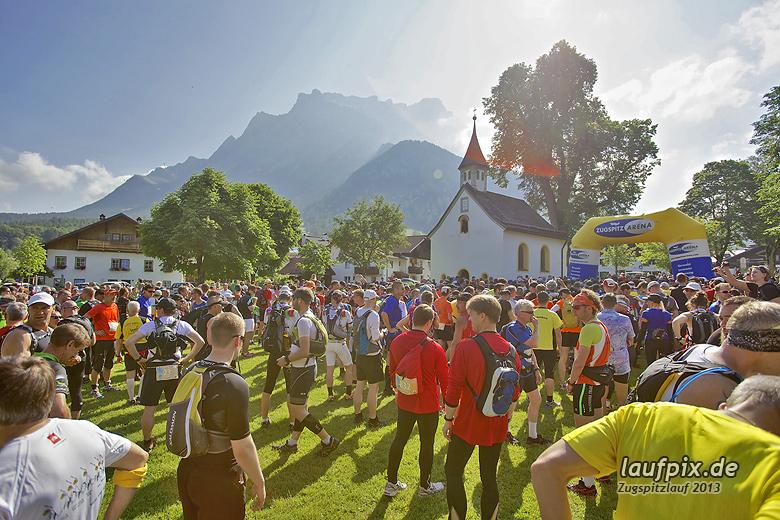 Zugspitzlauf - Start Strecke Ziel 2013 - 32