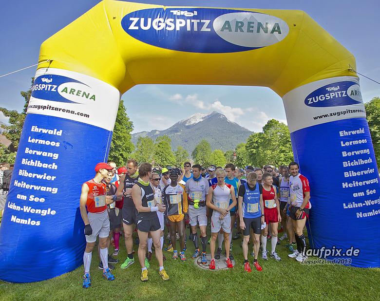Zugspitzlauf - Start Strecke Ziel 2013 - 35