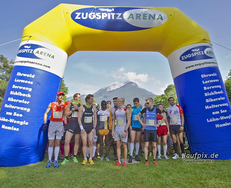 Zugspitzlauf - Start Strecke Ziel 2013 - 41
