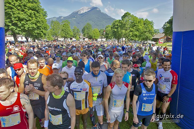 Zugspitzlauf - Start Strecke Ziel 2013