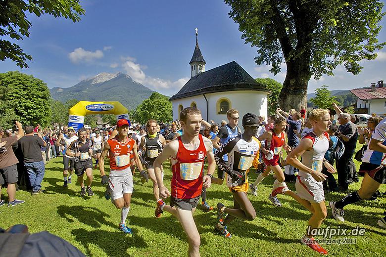 Zugspitzlauf - Start Strecke Ziel 2013 - 50