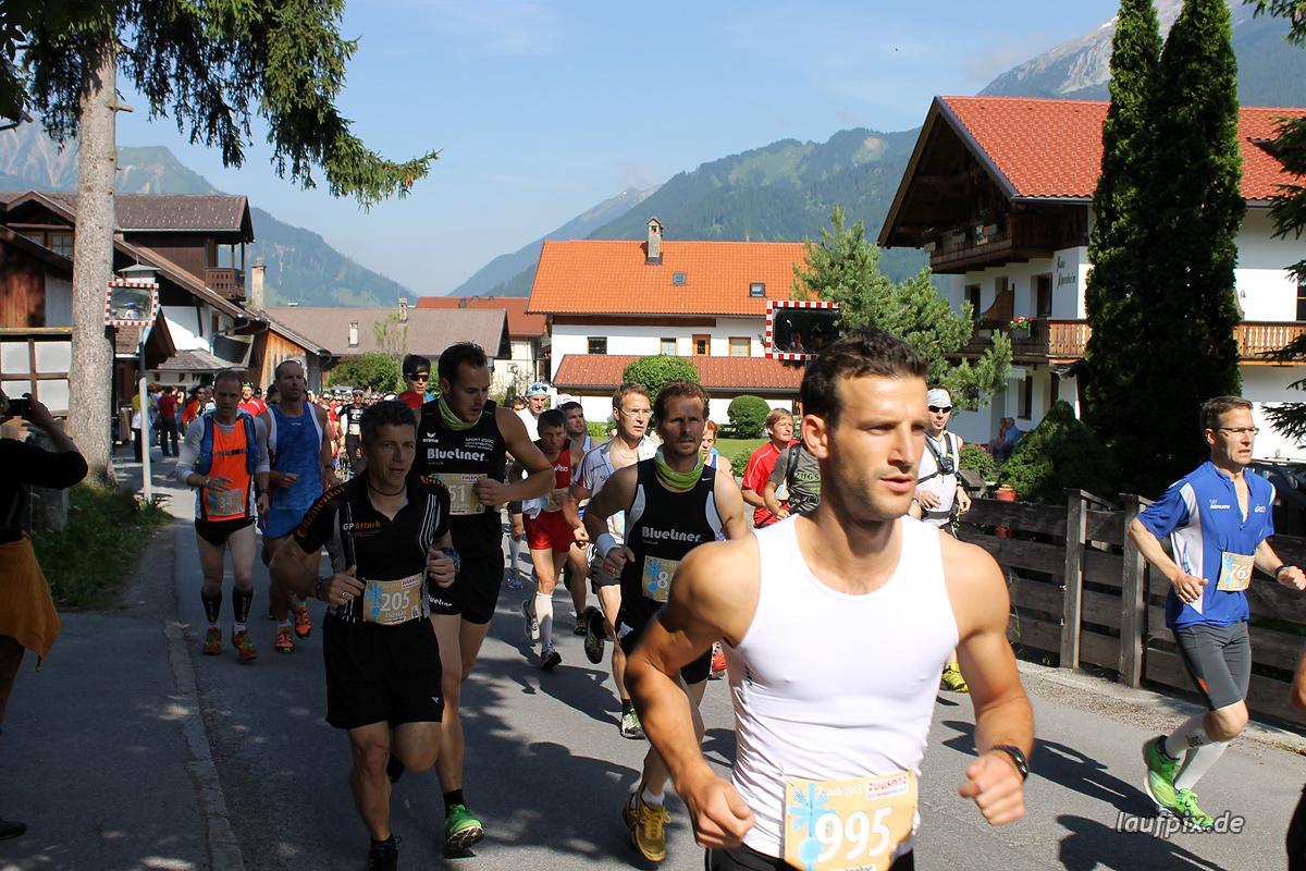 Zugspitzlauf - Start 2013 - 54